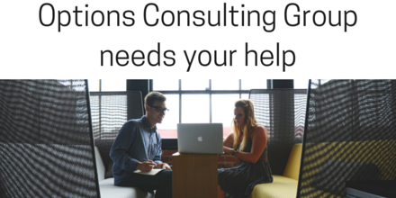 Options Consulting Group needs your help (1)